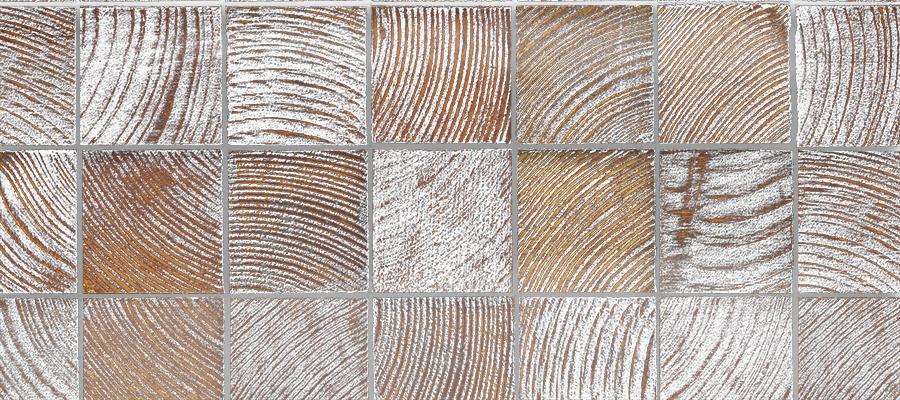 White Washed Wood Blocks